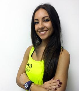 personal trainer Sara Affatato